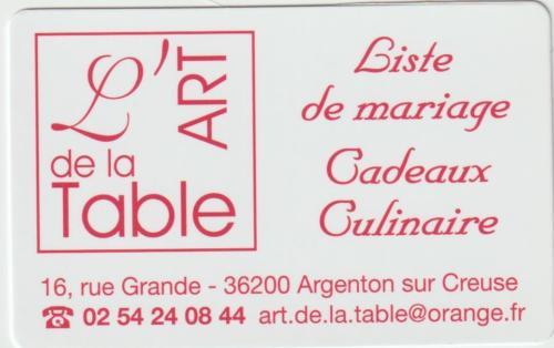 Art de la Table